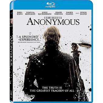 Anonymous [BLU-RAY] USA import