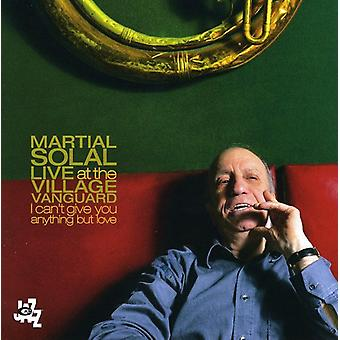 Martial Solal - Live på Village Vanguard [CD] USA importen