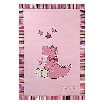 Sweet Dragon Rugs 504 01 By Esprit In Pink