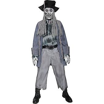 Zombie ghost pirate ghost costume Halloween costume
