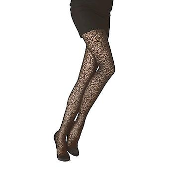 Solidea Chantal 70 Lace Support Tights [Style 50070] Moka (Dark Brown)  S