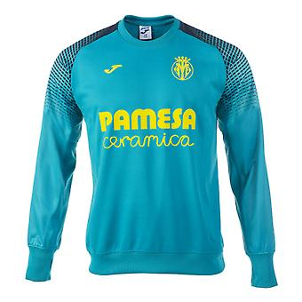 2017-2018 Villarreal Joma Training Sweatshirt (Blue)