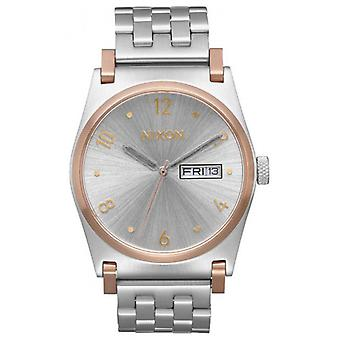 Nixon The Jane Watch - Silver/Rose Gold