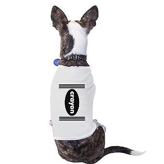 Окраска-маленький собака рубашки Хеллоуин костюм футболка для мелких домашних животных