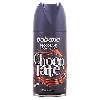 Babaria Deodorant Body Spray Men Barbaria 150 Chocolate