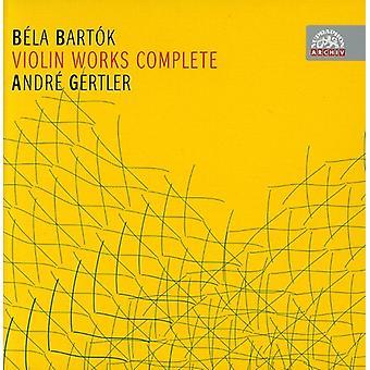 B. Bartok - Bart K: importación de obras de violín (completo) [CD] USA