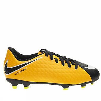 Nike Jr Hypervenom Phade III FG 852580 801 boys soccer shoes