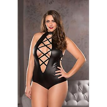 Allure AL-4-1102 X Strappy Teddy
