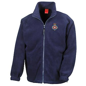 The Royal Fusiliers Embroidered Logo - Official British Army Full Zip Fleece