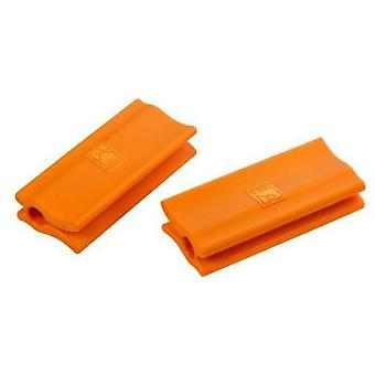 Bra Orange silicone handles  Efficient  (2 units) 32-40 cm