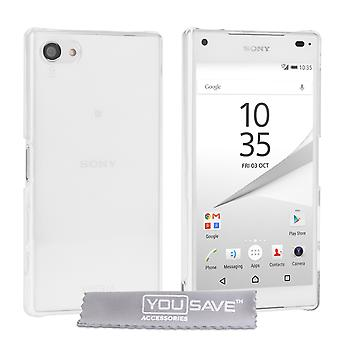Yousave Accessoires Sony Xperia Z5 Compact Etui - Crystal Clear