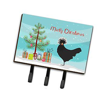 Polish Poland Chicken Christmas Leash or Key Holder