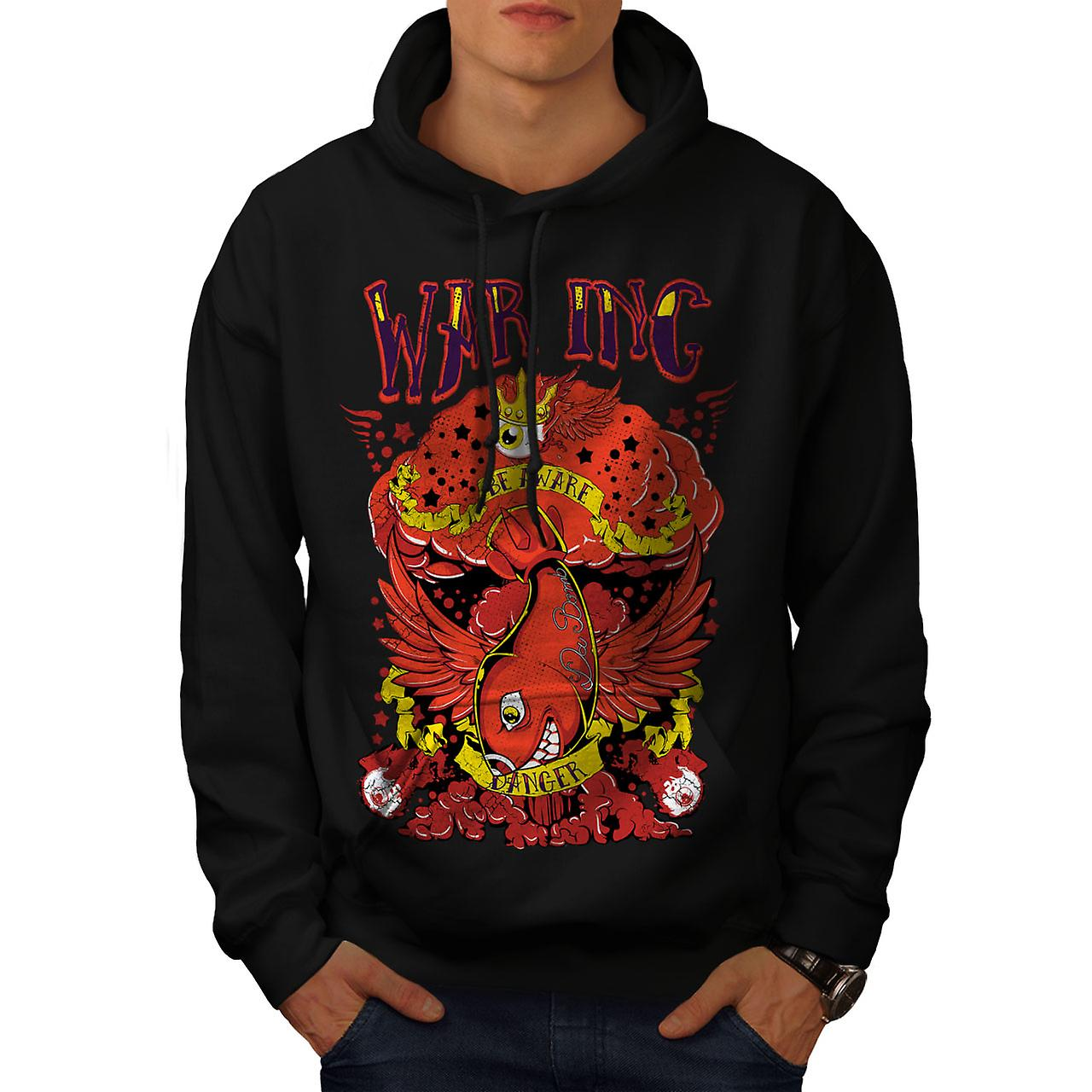 War Inc Nuke Bomb Fashion Men Black Hoodie | Wellcoda