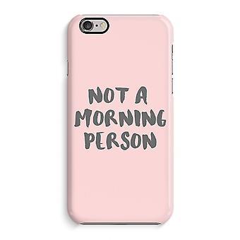 iPhone 6 / 6S caso imprimir completos (brillante) - persona de mañana