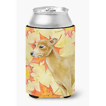 Carolines Treasures  BB9959CC Italian Greyhound Fall Can or Bottle Hugger