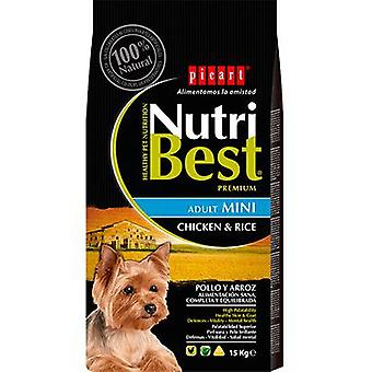 Picart Nutribest Mini Adult Chicken and Rice (Dogs , Dog Food , Dry Food)