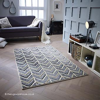 Flèches de Portland gris tapis