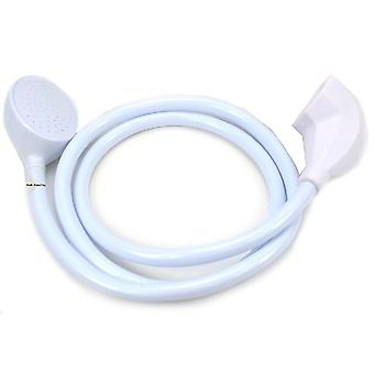 Single Shower Head Hose Spray Mixer 1.5 - 1.7M (Extra Wide Single Tap Fitting)
