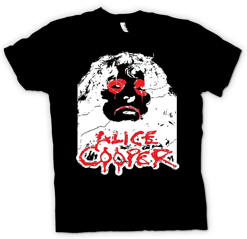 Mens T-shirt - Alice Cooper  Eyes
