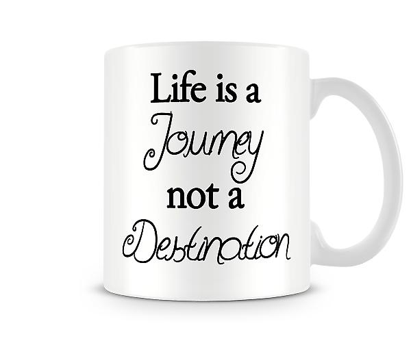 Journey Destination Printed Mug