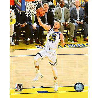 Stephen Curry Game 1 of the 2018 NBA Finals Photo Print