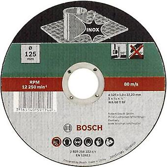 Taglio disco (dritto) 125 mm 22,23 mm Bosch Accessori WA 60 T BF 2609256323 1/PC