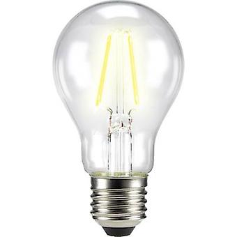 Sygonix LED EEC A++ (A++ - E) E27 Arbitrary 6 W = 60 W Warm white (Ø x L) 60 mm x 105 mm Filament 1 pc(s)
