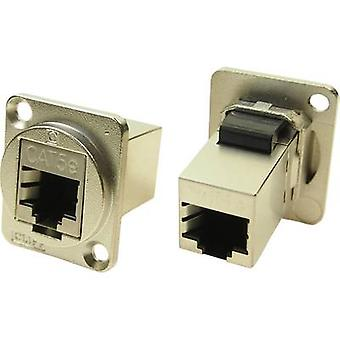 XLR adapter FTP RJ45 CAT 5e Adapter, built-in CP30220SM Cliff Content: 1 pc(s)