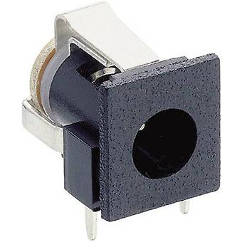 Lumberg NEB 1 R Low power connector Socket, horizontal mount 6.6 mm 1.9 mm 1 pc(s)