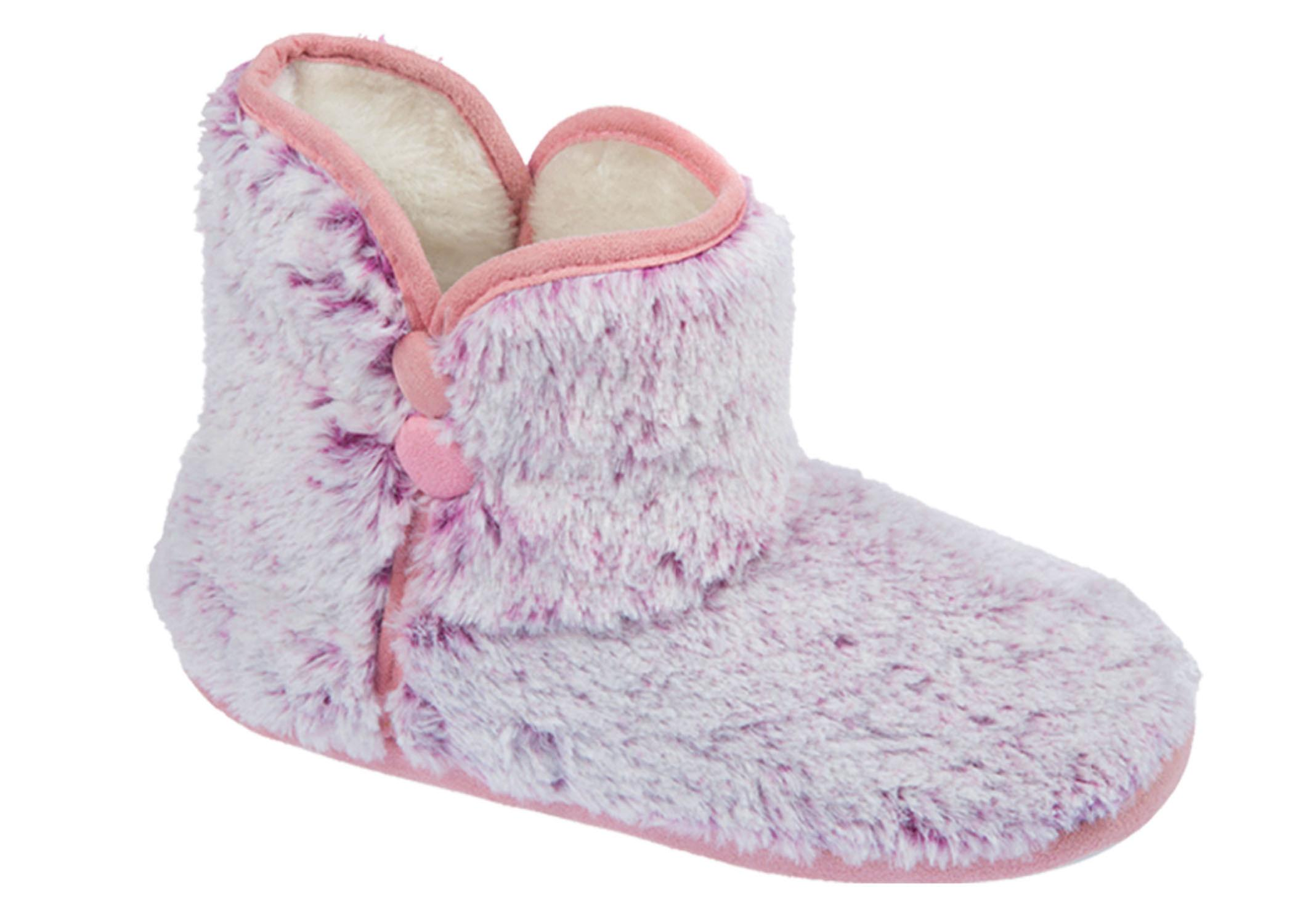 Womens Fur Lined Slipper Faux Coolers Boot High Fleece Top 7IaEqRwdf