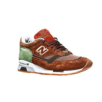 New balance M1500 mens real leather made in UK sneaker Brown