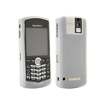 OEM BlackBerry 8100, 8100c Pearl Gel Skin Case - White