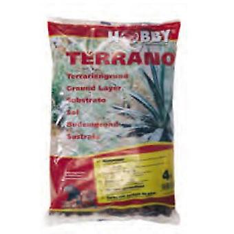 Hobby Terrano Pine Bark 4 L. (Reptiles , Beds and Hammocks)