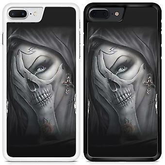 Skulls Custom Designed Printed Phone Case For Samsung Galaxy A8 2018 skull39 / White