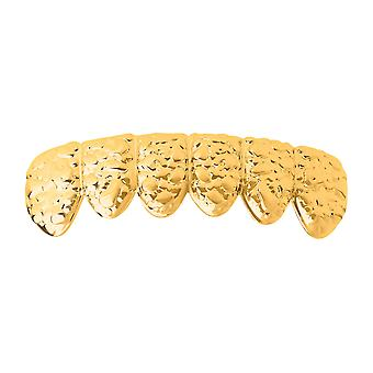 One size fits all bottom Grillz - NUGGET gold