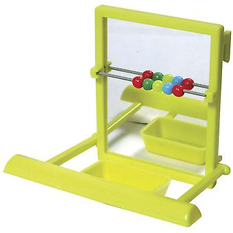 Ica Hanger with Mirror Ctas and Feeder (Birds , Toys)