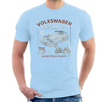 Volkswagen Golf MK1 GTI Owners Workshop Manual Men's T-Shirt