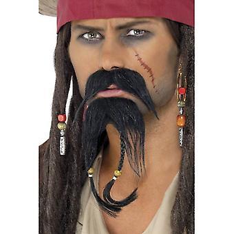 Smiffy's Pirate Facial Hair Set