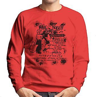 Disney Mickey Mouse Band Make Some Noise Men's Sweatshirt