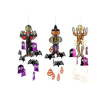 Halloween and horror  Halloween Character With Hanging Decorations