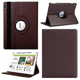 Für Apple iPad Pro 12.9 2018 3. Gen 360 Grad Hülle Cover Tasche Braun Kunst Leder Case Neu