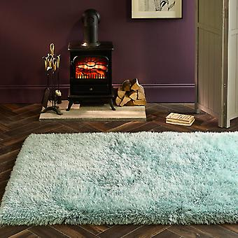 Extravagance Duck Egg  Rectangle Rugs Plain/Nearly Plain Rugs