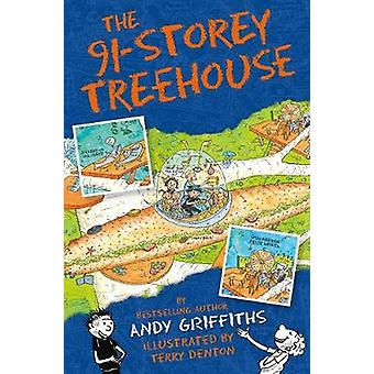 The 91-Storey Treehouse by Andy Griffiths - 9781509839162 Book