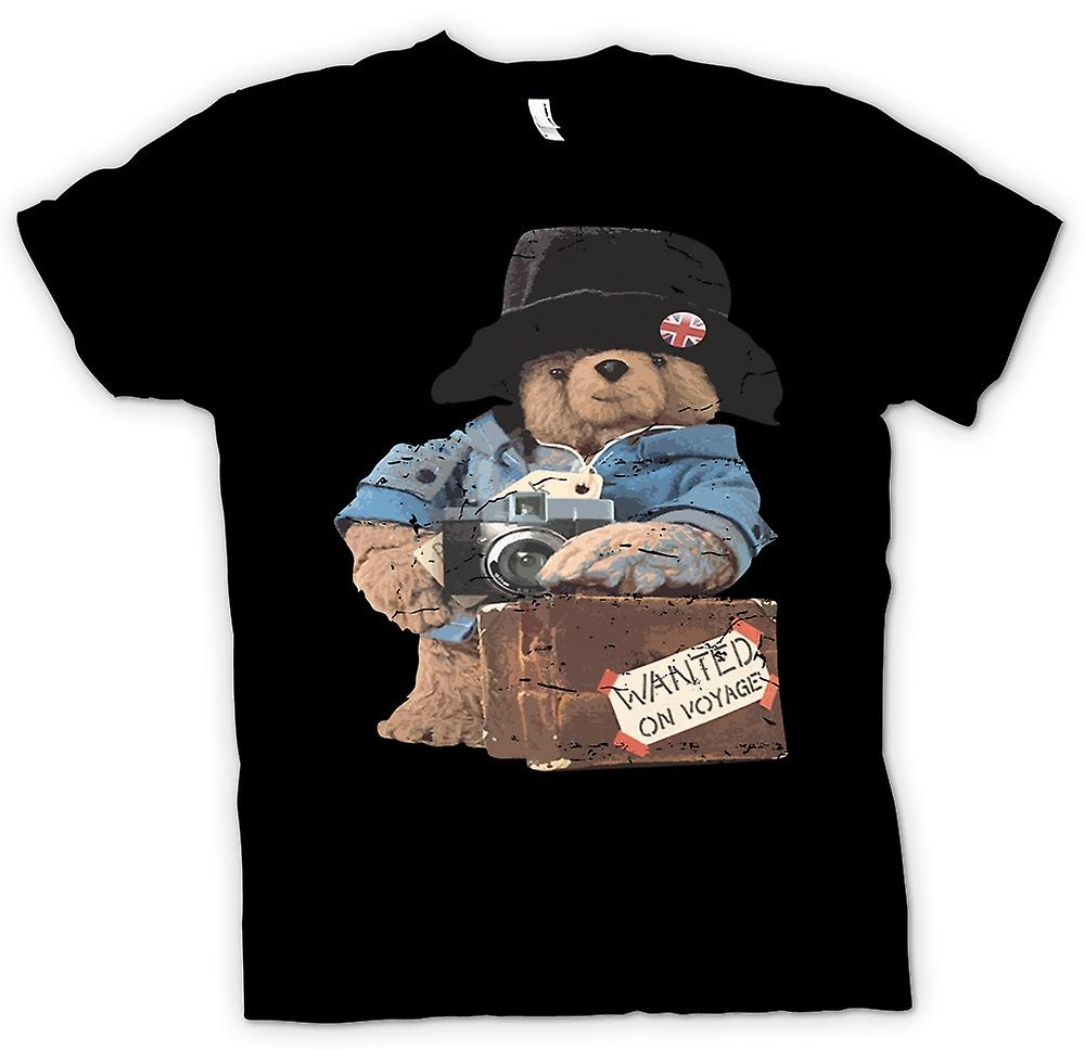 Kinder T-shirt - Paddington Bear - wollte auf Reise