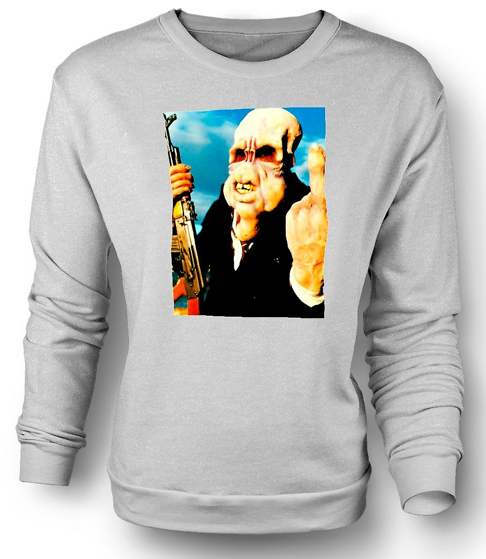 Mens Sweatshirt Bad Taste - Cult - Horror