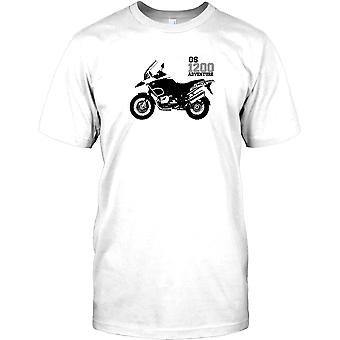 BMW GS1200 Adventure - Round The World Legend Kids T Shirt