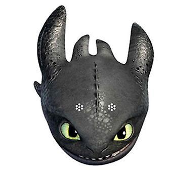 Bezzębny jak do Train Your Dragon 2 Party karty maseczka do twarzy (singiel)