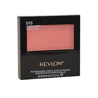 Revlon Powder Blush 5 g-Classy Coral