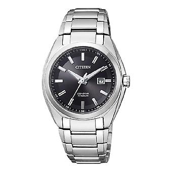 Citizen damski zegarek Super titanium eco-drive EW2210-53E