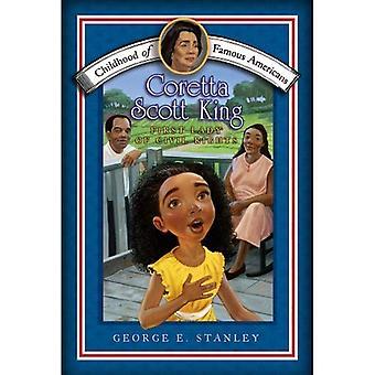 Coretta Scott King: première dame des droits civiques (l'enfance du célèbres américains)
